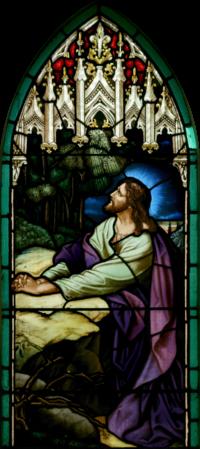 Jesús en Getsemaní