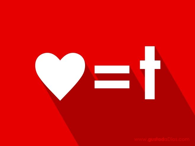 Corazón igual a Cruz