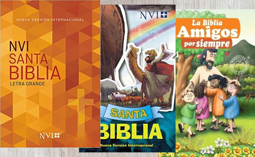 Sorteo: 3 Biblias